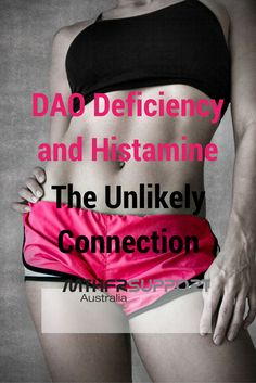 Deficiency and Histamine: The Unlikely Connection - MTHFRSupport Australia DAO Deficiency and Histamine: The Unlikely Connection What does it mean? We live…DAO Deficiency and Histamine: The Unlikely Connection What does it mean? We live… Health Resources, Health Tips, Histamine Intolerance Symptoms, Low Histamine Foods, Mast Cell Activation Syndrome, Autoimmune Diet, Womens Wellness, Anti Inflammatory Diet, Adrenal Fatigue
