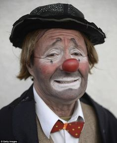 classic clown makeup - Google Search