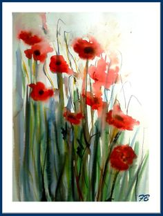 Poppies by Françoise Bolloré