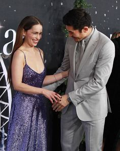 Song of Spring — Emilia Clarke and Henry Golding at the premiere of. Song of Spring — Emilia Clarke and Henry Golding at the premiere of. Last Christmas Movie, Christmas Drama, Christmas Tumblr, Emilia Clarke Last Christmas, Girls Luncheon, Emelia Clarke, Emma Thompson, Celebrity Outfits, Famous Women
