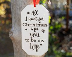 Will You Marry Me Ornament, Engagement Christmas Ornament, Christmas Engagement Ornament, Proposal Ornament, Holiday Proposal Idea christmasproposal Winter Proposal, Christmas Proposal, Christmas Engagement, Engagement Ornaments, Christmas Wedding, Winter Engagement, Fall Wedding, Cute Proposal Ideas, Perfect Proposal