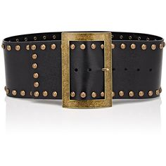 Embellished Textured-leather Belt - Black Philosophy di Lorenzo Serafini W4n0e5Ga