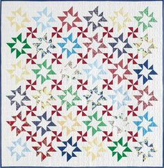 Shimmer quilt pattern from the March/April 2015 issue of McCall's Quilting magazine