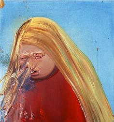 Sneeze, by Dana Schutz. This is a VIOLENT SNEEZE if I ever saw one. - Radical Activists Demand The End of an Artist's Career – Art & criticism by eric wayne Artist Painting, Artist Art, Painting & Drawing, Figure Painting, Dana Schutz, Art Criticism, Funny Art, Contemporary Paintings, Abstract