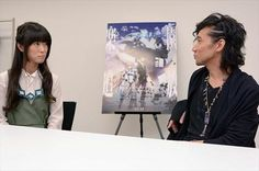 Rie Kugimiya, Shinichiro Miki 's Interview - Part II for Rakuen Tsuihou (Expelled From Paradise) anime film project http: // Animeanime.Jp/article/2014/1 1/02 / 20719.Html  ...