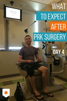 Here's day 4 in a series about recovery from laser eye surgery. PRK is known for having a long recovery...