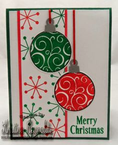#TSOL #The Stamps of Life #Ornaments2stamp #Christmas card