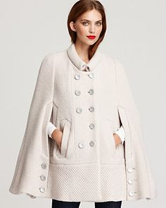 Tip  5  A structured or draped cape adds a touch of class to Fall 9be72744e809a