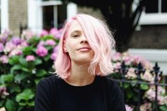 Personal Style: Pastel pink hair by Glasshouse Salon in London