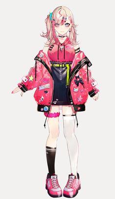 かやはら(@kaya7hara)さんのメディアツイート / Twitter Pretty Drawings, Cute Kawaii Drawings, Character Concept, Character Art, Anime Girl Dress, Anime Girls, Super Hero Outfits, Robot Concept Art, Pretty Anime Girl