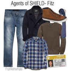 """""""Agents of Shield-Fitz"""" by frankenwhale on Polyvore"""