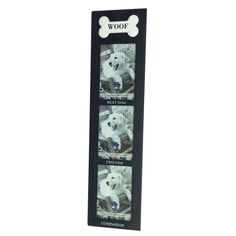 Display your love for canine comrades with this lovely frame, featuring 3 picture windows and a charming bone detail. Dog Room Decor, Dog Rooms, Find Picture, Joss And Main, New Pictures, Decorative Items, Picture Frames, Display, Foyer