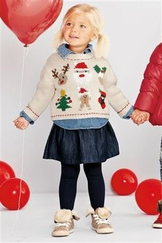 Buy Christmas Character Jumper (3mths-6yrs) from the Next UK online shop £20