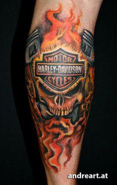 harley davidson tattoos | Harley Davidson Motor Cycle Tattoo Harley Davidson Motor Cycle Tattoo