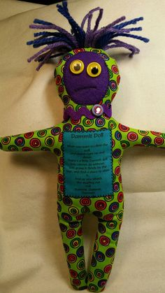 Dammit Doll by BBsQuiltsnMore on Etsy. Got stress? I can help...