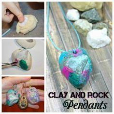 Rocking Rock Pendants!