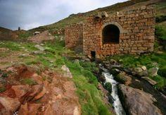 Abandoned Tin Mine at Kenindjack, West Cornwall, United Kingdom