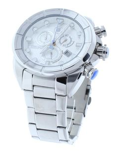 FREE US SHIPPING. Technosport TS-640-15 Men's Stainless Steel Chronograph Watch Swiss Movement Stainless Steel Band. Manufacturer Warranty Included.
