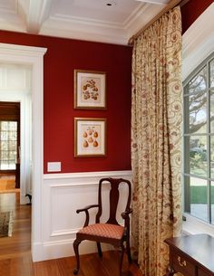 1000 images about farm dining room on pinterest red for Dining room ideas with red walls