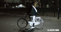 Běháte? Jezdíte na kole? Vozíte kočárek? A jste vidět? Volvo, Cool Tech Gadgets, Life Paint, Car Headlights, Bicycle, Technology, Night, Cyclists, Innovative Ideas