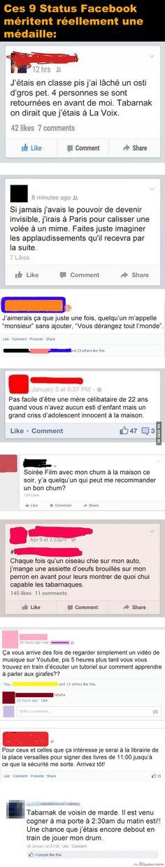 9 Status Facebook EPIC – Québec Meme +
