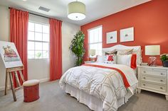 Residence Three Bedroom at Mackay Place in Cypress, CA. #WilliamLyonHomes