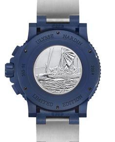 TimeZone : Industry News » SIHH 2017 - Ulysse Nardin Diver Chronograph Artemis Racing