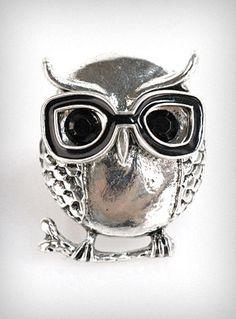 Nerdy Owl Ring  http://www.shopplasticland.com/fashion/p/P20113516.html