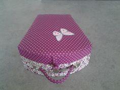 Joelle a réalisé cette jolie boite coquillage.fatima