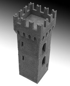 The Tower (1) by Manorhouse Workshop wargaming elements | on Indiegogo