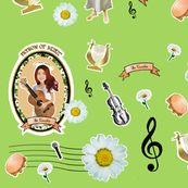 st cecilia play for us fabric on sale at spoonflower