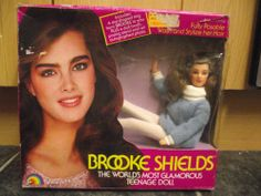 Vintage 1981 LJN Brooke Shields fashion doll. Boxed. Unused condition 4.99+4 listed
