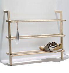 Gaston shoe shelf Side by Side