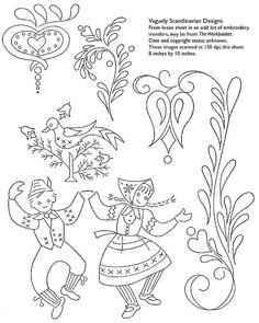 holiday design, scandinavian design, rosem pattern, craft, embroidery patterns, embroideri pattern, embroideri bird, paint, embroidery designs