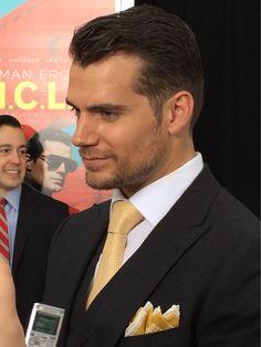 "Sooo, is Henry Cavill a ""ladies' man"" like Solo? You're going to  his answer! -Our intv from t/UNCLE premiere TODAY."