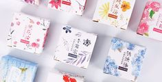 Floral Series Japanese Washi Tape Masking Tape by Callicrafty