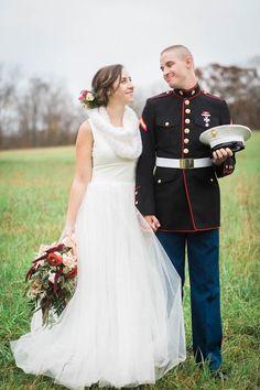 Moore & Co Feature || JuneBug Weddings || JuneBugWeddings.com/wedding-blog || Snuggle Up and Enjoy This Winter Wedding at Gunpowder Falls State Park