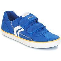 Παπούτσια Αγόρι Χαμηλά Sneakers Geox J KILWI B. I Μπλέ / Yellow