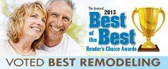 S-Tek voted Best Remodeling!