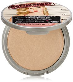 theBalm Mary-Lou Manizer - This highlighter, shadow and shimmer diffuses light so your skin looks softer and younger while adding a subtle glow.