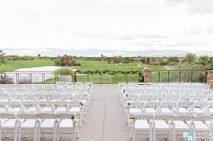Palm Desert Terrace Ceremony - Desert Willow Golf Resort Wedding Venue #desertwillowweddings