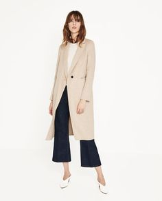 ZARA - WOMAN - HAND MADE MASCULINE COAT