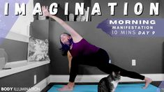 YOGA FOR IMAGINATION🌻 Morning manifestation Yoga Flow DAY 9🌹 10 mins | B...