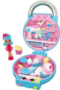 Shopkins Lil' Secrets - Discover the best kept secret in shopville! Shopkins Room, Tsum Tsums, Toys Land, Dollhouse Toys, Shrinky Dinks, Polly Pocket, Squishies, Lol Dolls, Lps