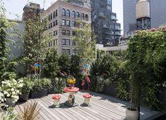 Ispirazioni per arredare un terrazzo - Foto 1 LivingCorriere Terrazzo, Ikebana, E Design, Loft, Plants, Outdoor, Houses, Outdoors, Lofts