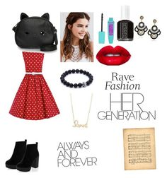 """""""So 1999"""" by loringamy on Polyvore featuring REGALROSE, Loungefly, Essie, Lime Crime and Sydney Evan"""
