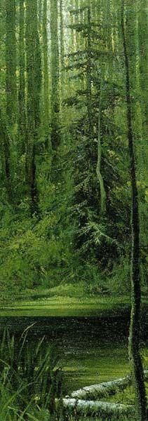 Forest Tale 1973 by Konstantin Vasiliev