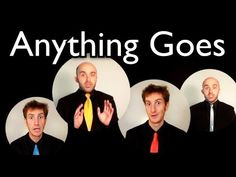▶ Anything Goes [FALLOUT 3] - Barbershop Quartet A Cappella - Cole Porter - YouTube