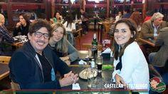 """Otro amigo conocido por todos como """" huevo"""" Alejandro Müller también disfrutando los panqueques de carlitos!!!"""