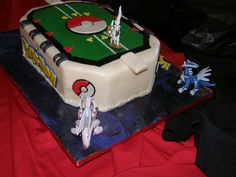 Pokemon Battle Field Cake 5442947726_f1dcf41981.jpg